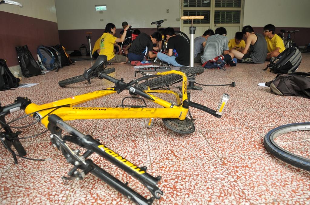 幹訓單車組裝課程02